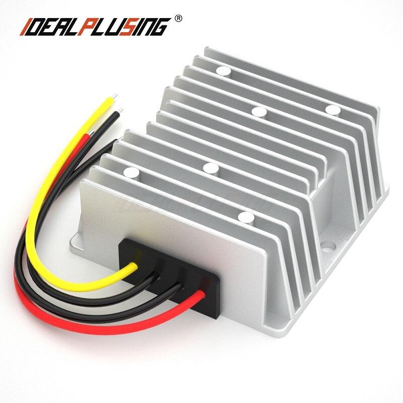 Convertidor reductor de voltaje de 48V a 13,8 V 10A 15A 20A 276W CC 4-Canal Digital transceptor óptico video-fibra de modo único convertidor de fibra óptica FC 20KM