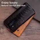 Чехол для телефона из страусиной кожи для huawei mate 20 10 9 Pro P10 P20 Lite, мягкий ТПУ чехол для Honor 8X Max 9 10 Nova 3 3i Capa - 4