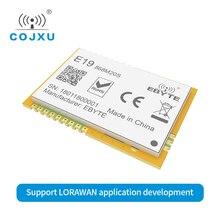 SX1276 LORAWAN 868 МГц 20dBm беспроводной модуль SPI интерфейс E19-868M20S LoRa SMD100mW LoRa передатчик приемник штамп антенна отверстия