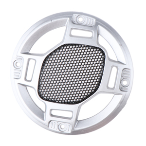 Image 3 - 3 Spreker Decoratieve Cirkel Subwoofer Grill Cover Guard Protector Mesh