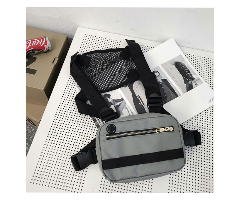 Hae69713143d446ffba4fda6e55724b33h - Vest-Style Large Space Chest Bag Retro Square Chest Bag Streetwear Shoulder Functional Backpack Tactics Funny Pack G108