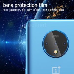 Image 4 - Tempered Glass For OnePlus7 7T OnePlus6 6T OnePlus5 5T lens film Screen Protector Toughened Film and lens film