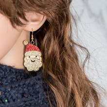 Aretes Brincos Oorbellen Brinco Rushed Earrings Snowman Deer Bell Jewelry Accessories 2019 New Lovely Xmas Gifts For Women