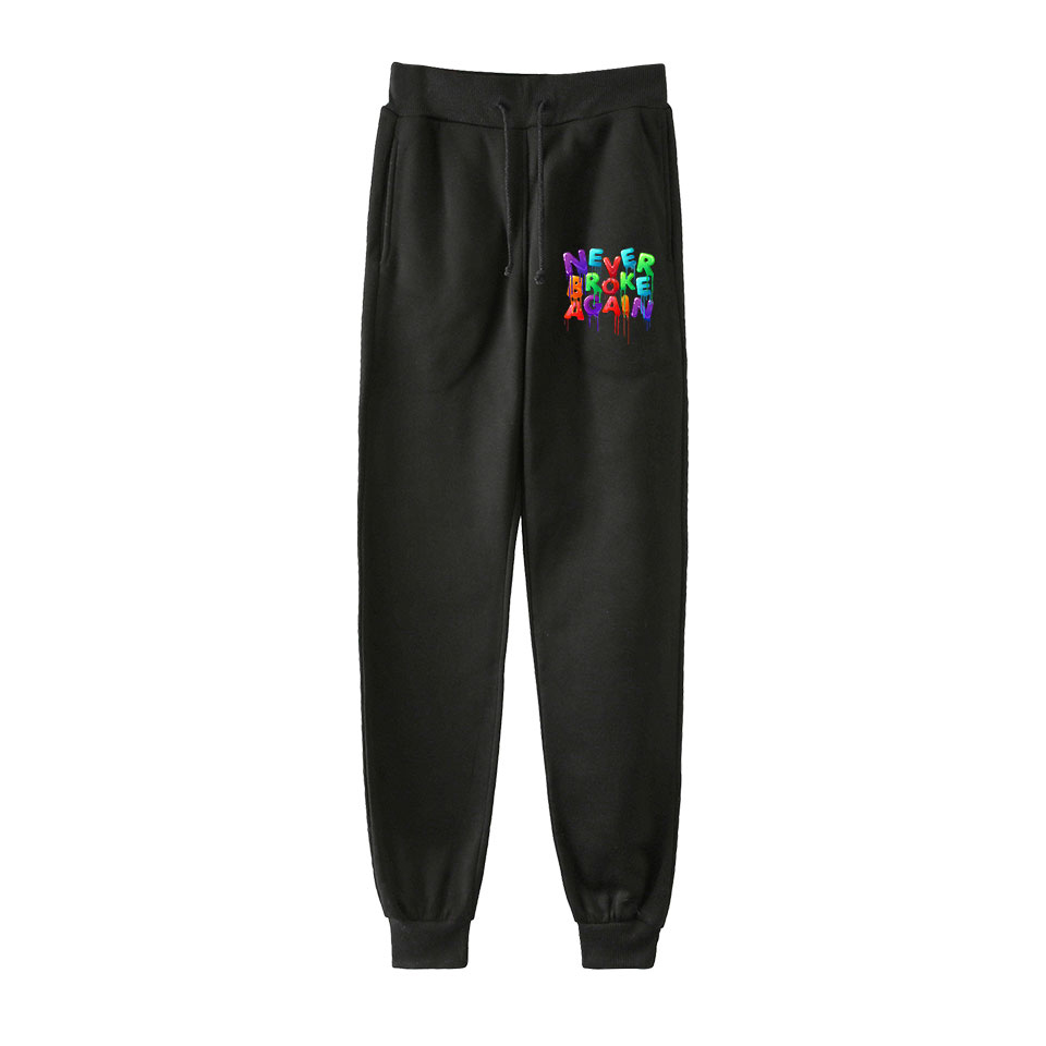 YoungBoy Never Broke Again Men's Sweatpants  High Quality Jogging Sports Pants Trousers Fashion Tight Comfortable Casual Pants