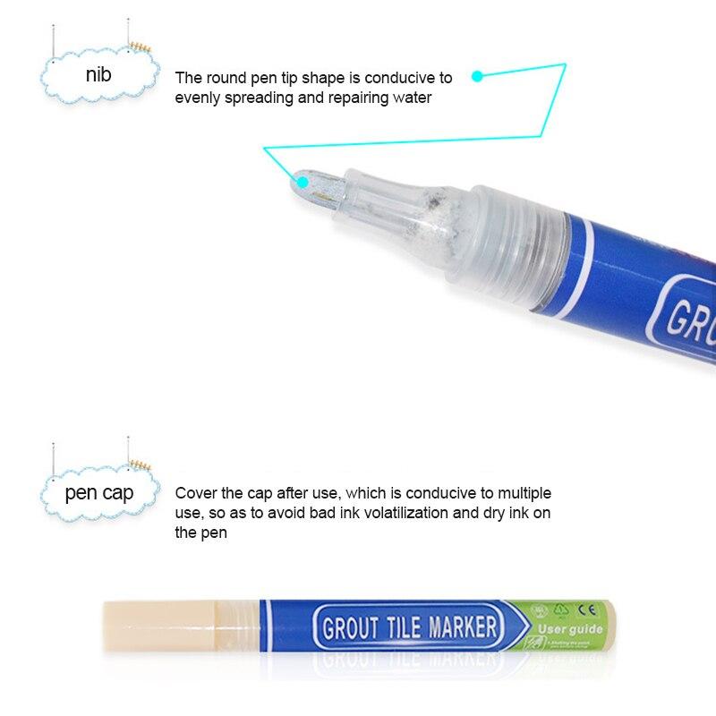 Waterproof Grout Marker Repair Pen