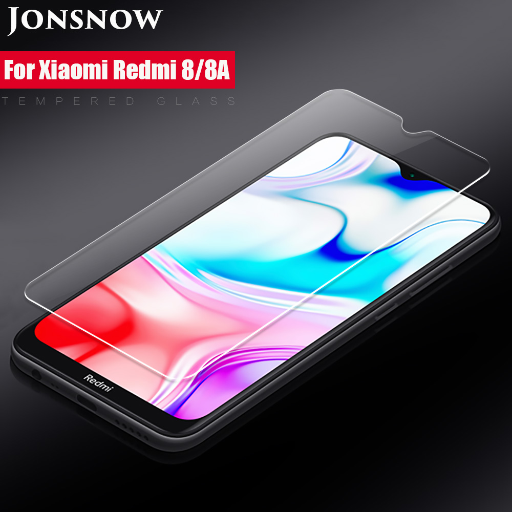 Tempered Glass For Xiaomi Redmi 8 8A Redmi Note 8T Note 8 Pro 9H 2.5D Protective Film Explosion-proof Clear LCD Screen Protector