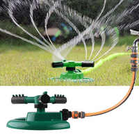 Practical Plastic Nozzle ABS+PP Trident Flowers Sprayer Watering Equipment Water Sprinkler Green Rotated 360° Tools