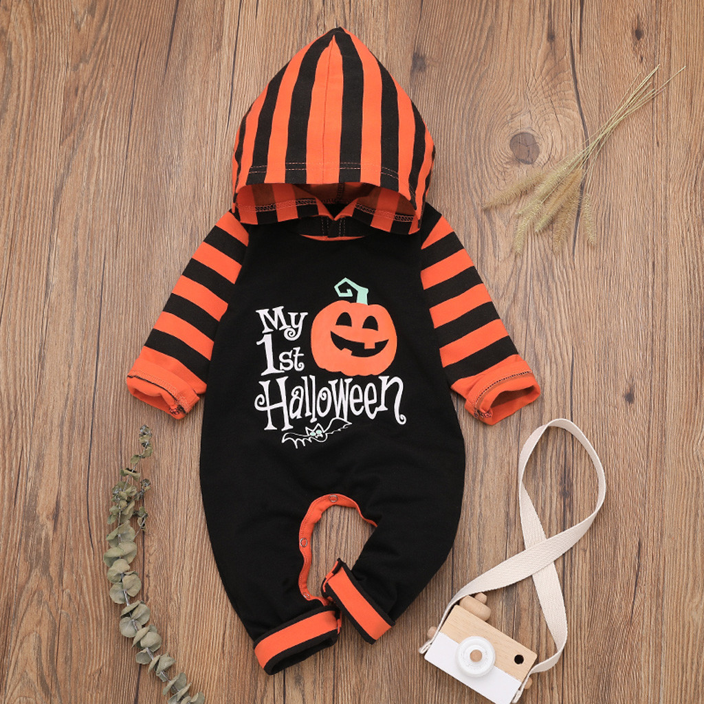 new born baby clothes baby boy   romper   winter clothes costume   romper   onesie disfraz bebe halloween Patchwork 0-24m Long Sleeve Z4