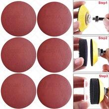 15Pcs Sanding Discs Pad Car Headlight Repair Polishing Restoration Sandpaper Kits Abrasive Polish Wheel Wood Sanding Paper Sets