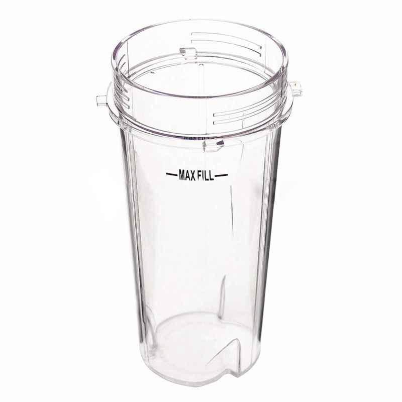 16 Oz Tinggi Cup Juicer Tidak Ada Sip & Tutup Segel untuk Ninja Blender Gratis Mesin Pencuci Piring