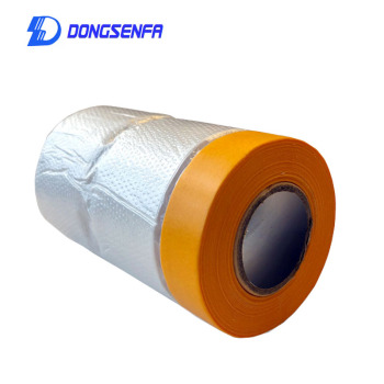 30cm*20M Masking Tape Plastic Drop Cloth Dust Protection Film Cover For Automobile Painting And Furniture Dust-proof - discount item  15% OFF Hardware
