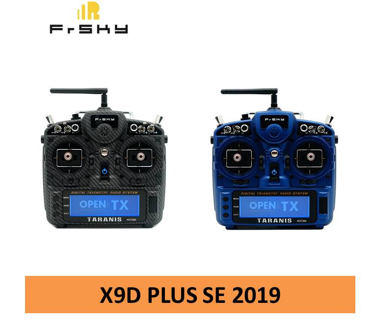 Frsky Taranis X9D Plus SE 2019 édition spéciale transmetteur télécommande pour Drone de course FPV Multirotor RC