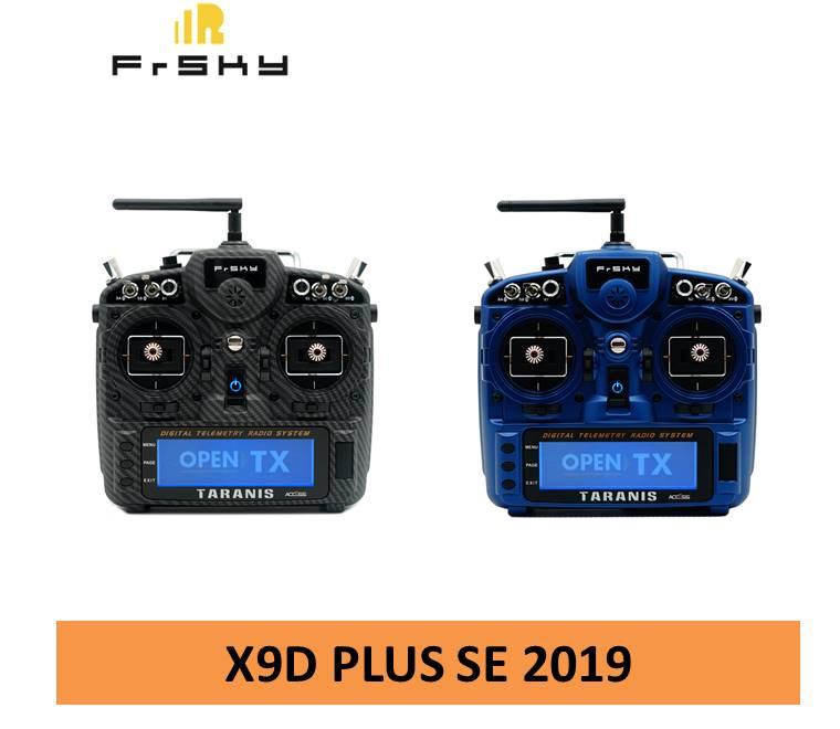 Mando a distancia transmisor Frsky Taranis X9D Plus SE 2019, edición especial, para Dron de carreras con Multirotor RC, con visión en primera persona Transmisor FrSky ACCST Taranis Q X7 QX7 de 2,4 GHz, 16 canales, color blanco/negro