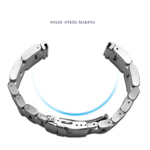 Image 4 - 肥厚ステンレス鋼腕時計ストラップpeneraiに適合させる男性の鋼バンドPAM111 黒交換チェーン 22 ミリメートル 24 ミリメートル