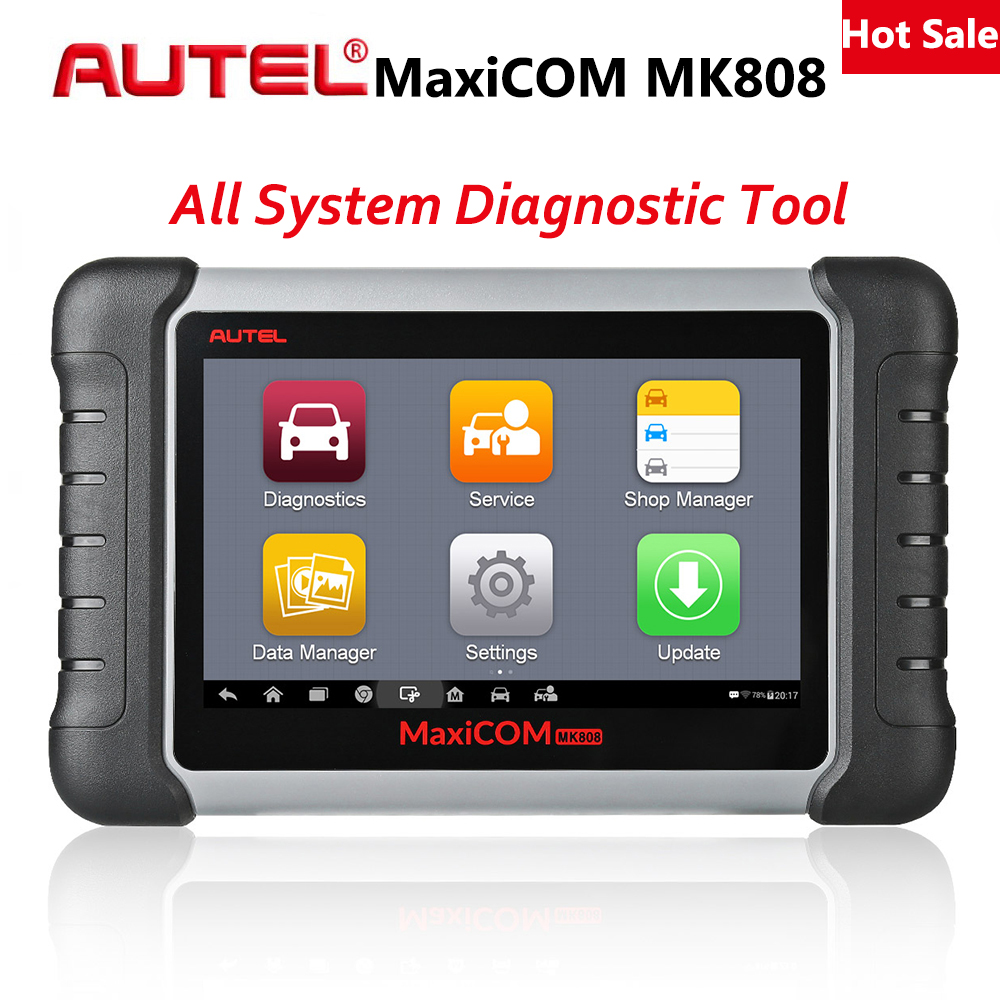 Autel MaxiCom MK808 Auto Diagnostic Tool Car Scanner Engine Analysis Tool All System OBD 2 Oil