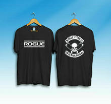 Camisa internacional de t da aptidão rogue do vintage novo
