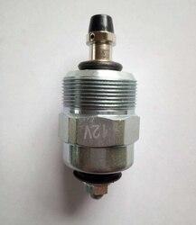 Válvula solenóide de parada do motor 17/918121 12v apto para jcb 8080 8052 8060 8056