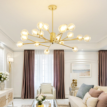 Nordic Chandelier Golden Ceiling Lighting Creative Post-modern Lamps LED Chandelier for Dining Room Living Room Chandeliers chandelier nordic industrial style post modern simple creative personality dining room living room bedroom balcony