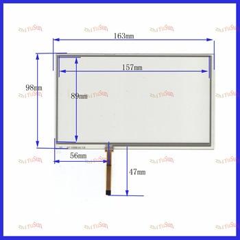 ZhiYuSun 10PCS/Lot AT1105D A1 7.0 7inch  4lines resistance screen   163*98mm suitable  this is compatible blass suitable 163*98
