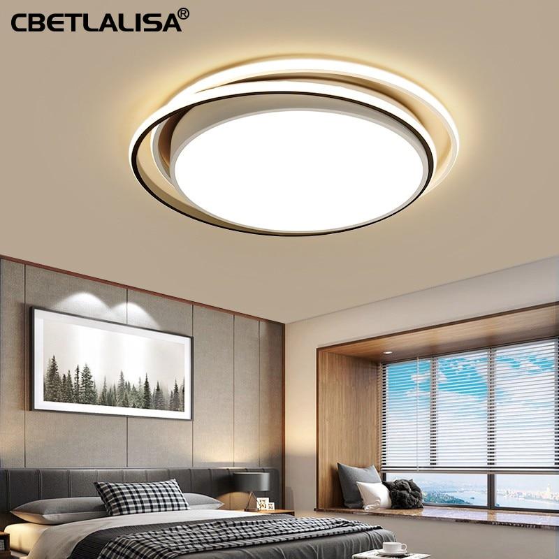 LED потолочные люстры для детской,гостиной,спальни,кухни,28вт 36вт черный цвет светодиодный фонарь быстрая доставка,светильники,