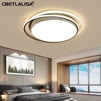 LED ceiling chandelier for living room, bedroom, kitchen, 28 w 36 w black color led light, downlight,