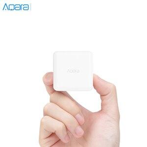 Image 1 - Aqara Cube 컨트롤러 지그비 버전 App을 작동 Xiaomi Mijia 게이트웨이 스마트 홈 키트 화이트