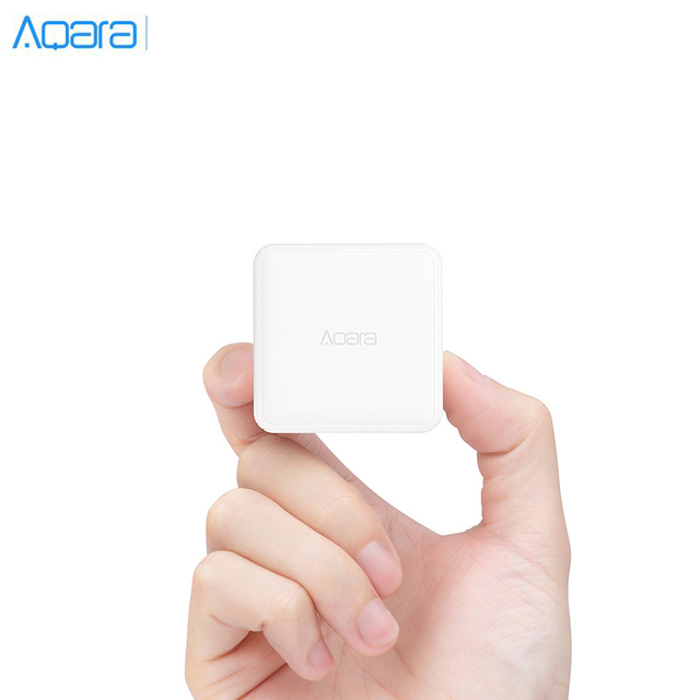 Aqara Cube Controller Zigbee Version Gesteuert Durch Sechs Aktionen Arbeitet Mit Xiaomi Mijia Gateway Für Smart Home Kits Weiß