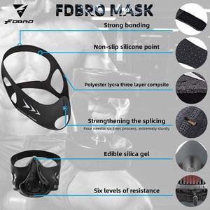 Image 3 - FDBRO sports mask Fitness ,Workout ,Running , Resistance ,Elevation ,Cardio ,Endurance Mask For Fitness training sports mask 3.0
