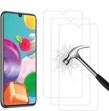100 unids/lote 9H de cristal templado claro para Samsung A10 20 30 40 50 A60 70 90 A51 A71 A91 Protector de pantalla de vidrio a prueba de explosión de la película