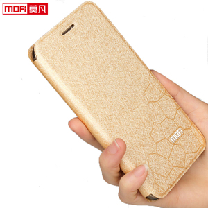 Image 2 - flip case for huawei honor 10 case Honor 10 cover leather tpu slim book back luxury glitter Mofi silicon Honor 10 stand case pu