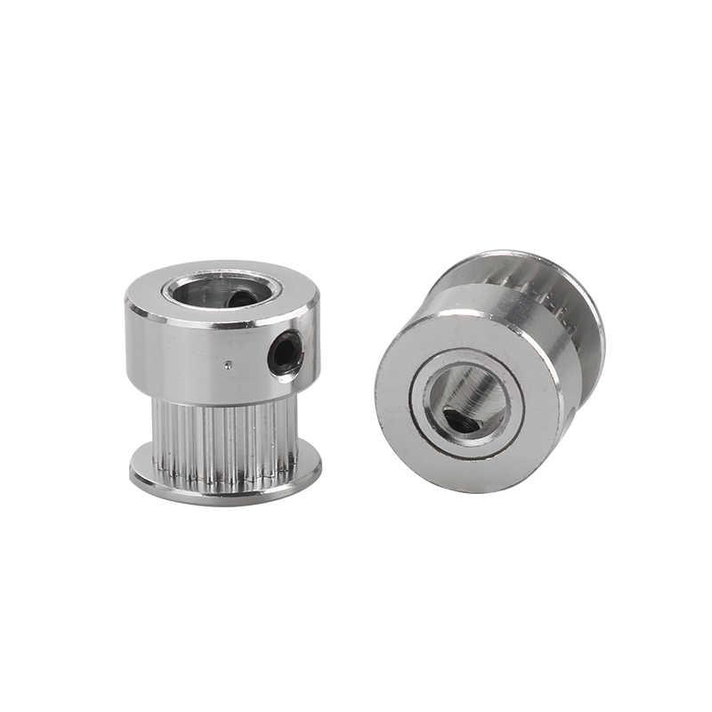 1pc GT2 koło rozrządu 16 zębów 2GT 20 zęby otwór 4/5/6. 35/8mm synchroniczne koła część biegów dla szerokości 6mm części do drukarek 3D