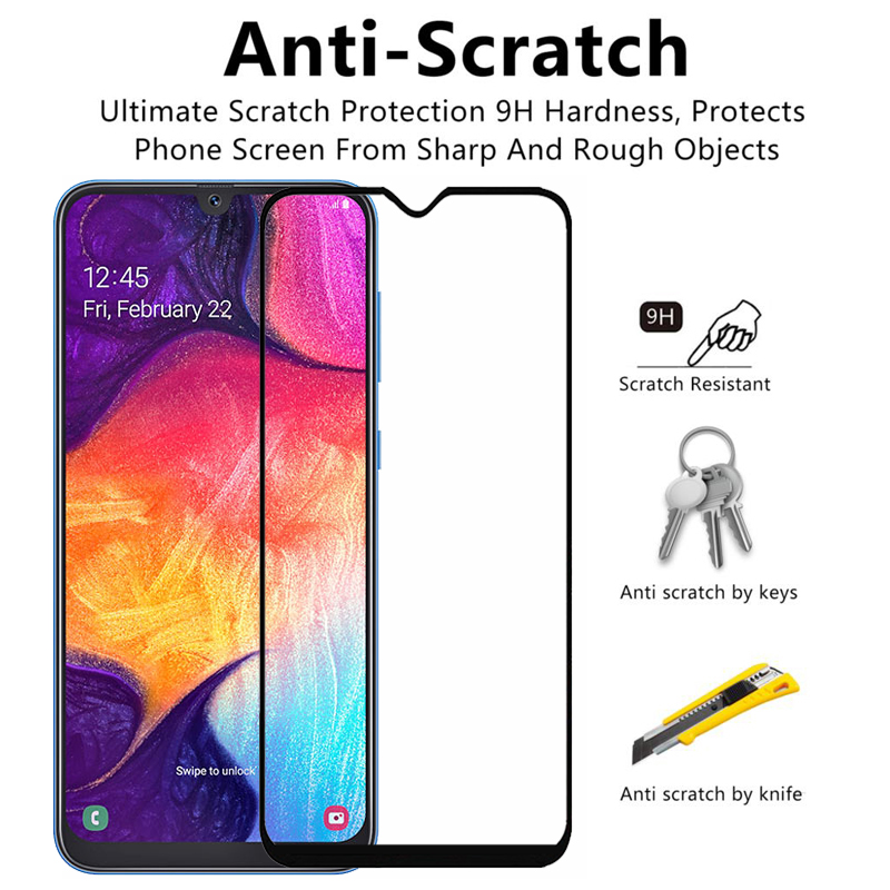 Tempered Glass For Samsung A 50 40 A20 A10 A50 A40 A30 A20e A70 A51 Protective Glass A51 A30S A20S A 51 M31 M21 Screen Protector 2