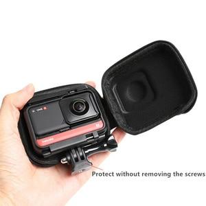 Image 4 - Étui de transport Mini sac de rangement coque de protection étanche pour Insta360 ONE R / 4K édition panoramique accessoires de caméra de sport