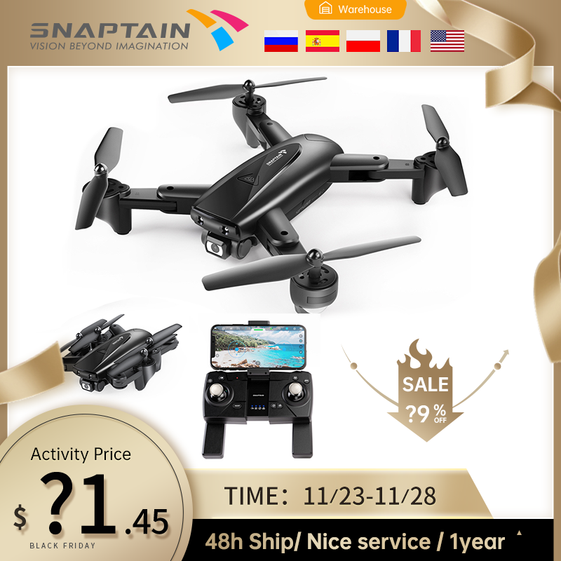 SNAPTAIN SP500 Camera Drone drone Foldable FPV RC Quadcopter with 1080P HD Drones 5G WiFi Drones Hight Hold Christmas gift kids 1