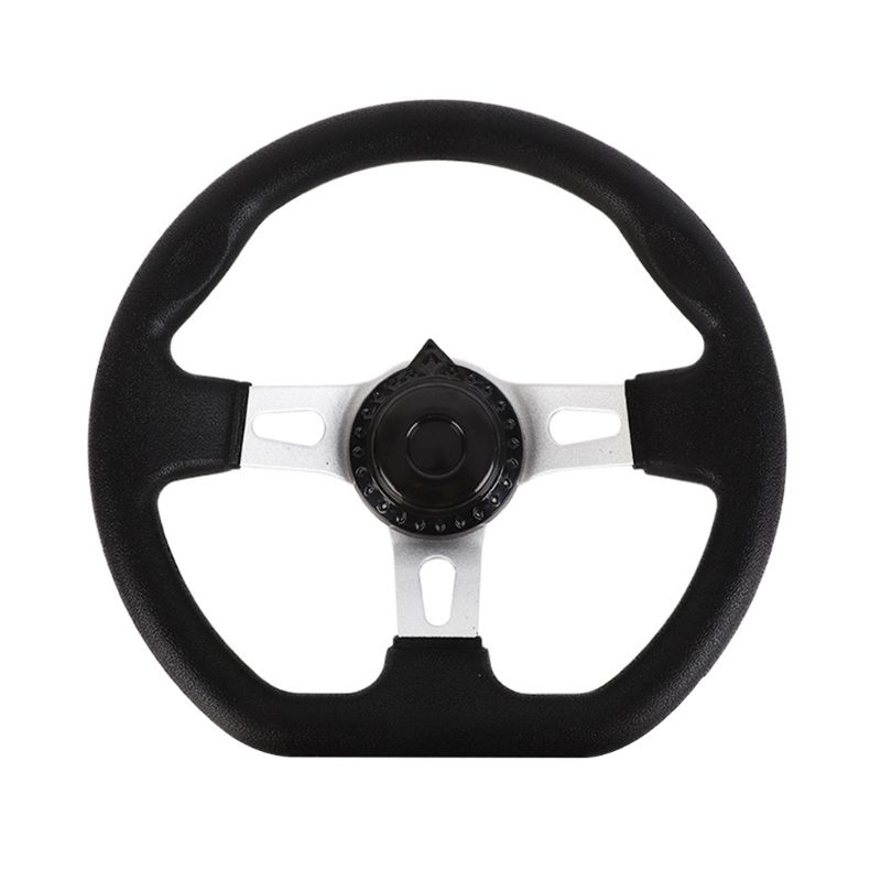 270mm Universal Steering Wheel for Go Kart 110CC Replacement Accessories  PU