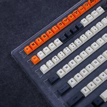 Cherry Profile-llaveros de carbono Sub PBT para teclado mecánico MX, filtro Ducky 104, TKL, KBD75, Kira96, YMD96, GK64, Tada68, SP84