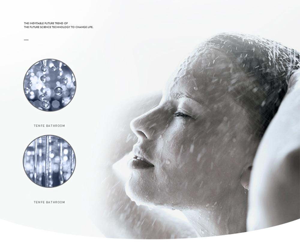 Hae6bc109f7b24c19aec617e0203e06b8t Waterfall Matte Black Bathroom Shower Faucet Black Digital Shower Faucets Set Rainfall Shower Head Digital Display Mixer Tap