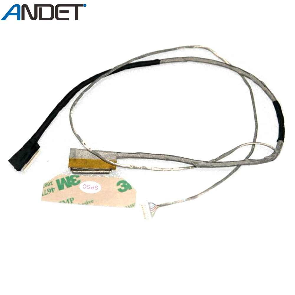 Новый оригинальный ЖК-кабель для ноутбука Lenovo серии Y480 с линией камеры 90200378 DC02001EY10