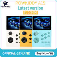 POWKIDDY A19 Pandora's Box Android supretro handheld game console IPS screen built-in 3000+games 30 3D games WiFi download