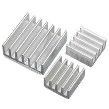 15 шт. один комплект алюминиевый радиатор клеевой комплект раковина для охлаждения Raspberry Pi 4 Heatsink-SCL
