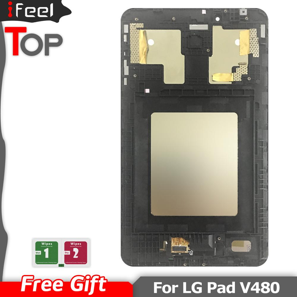 Für <font><b>LG</b></font> G Pad 8,0 <font><b>V490</b></font> <font><b>LCD</b></font> Display-Monitor <font><b>Touch</b></font>-Panel Digitizer Glas Montage Für <font><b>LG</b></font> V480 <font><b>LCD</b></font> Display image