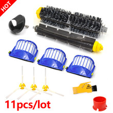 Fırçalar esnek 3 kollu çırpıcı fırça iRobot Roomba 600 serisi 610 620 625 630 650 660 vakum temizleyici yedek parça