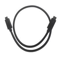 Thunderbolt 3 Usb 3.1 Usb C Male To Male Thunderbolt 3 40Gbps Cable Usb C To Usb C Thunderbolt 3 Cable 50Cm Data Cables     -