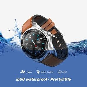 Image 4 - S09plus inteligentny zegarek mężczyźni IP68 wodoodporny pulsometr sportowy inteligentny zegar dla Android IOS inteligentny zegarek Bluetooth 5.0