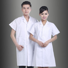 Half-sleeve Medical And Nursing Workwear For Male Female Doctors