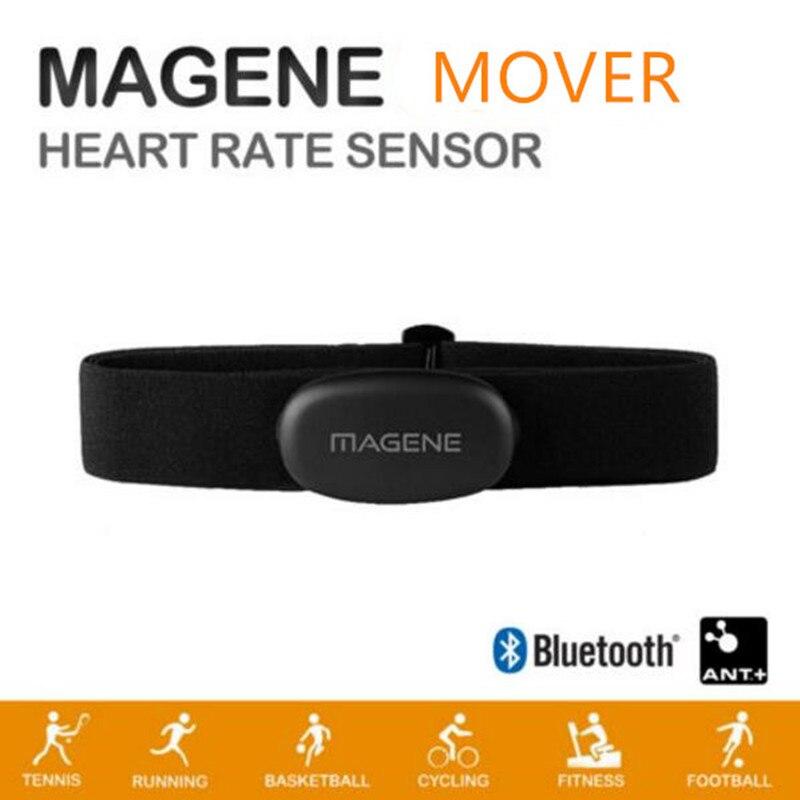 Magene ムーバー Bluetooth4.0 ANT + 心拍数センサー互換ガーミン Bryton IGPSPORT 実行しているコンピュータバイク心拍数モニター
