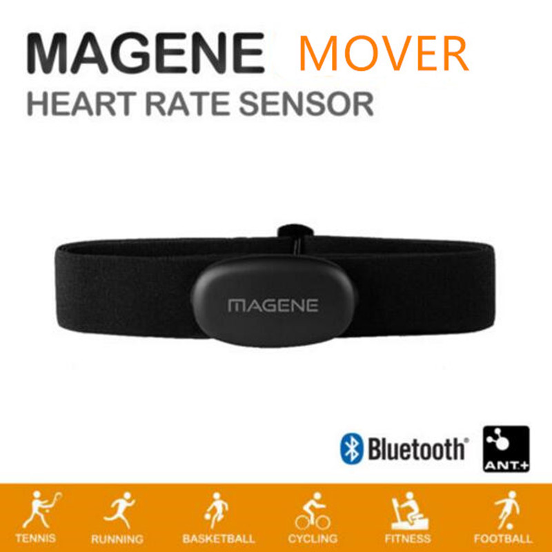 Magene MOVER Bluetooth4.0 ANT + Heart Rate Sensor Compatible GARMIN Bryton IGPSPORT Computer Running Bike Heart Rate Monitor image