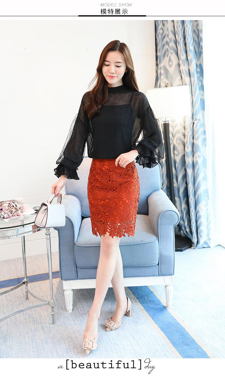 2019 Women tops and Blouses ruffless Summer autumn Long Sleeve White Shirt Casual Female Chiffon Blouse Women Clothing plus size 15