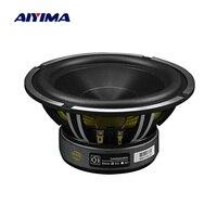 AIYIMA 6.5 Inch Woofer Audio Car Music Speaker Driver 4 Ohm 50W Bass Auto Waterproof Speaker Aluminum Basin DIY Sound System
