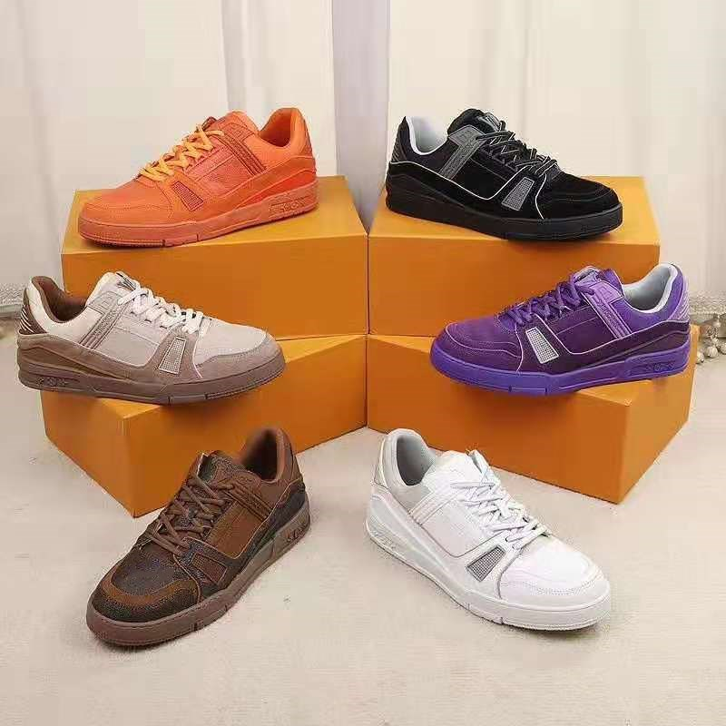 Mixed Colors Shoes Men Lace-up Runway Zapatos De Mujer Platform Flat Gym Sports обувь женская Fashion Walking Man Shoes 39-44